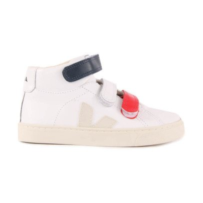 Veja Esplar Leather Velcro High Top Trainers-listing