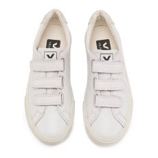 Veja 3-Lock Leather Velcro Trainers-listing