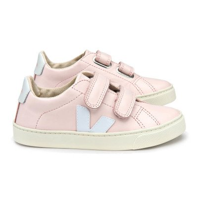 Veja Esplar Velcro Leather Trainers-product
