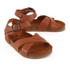 Bonton Sandalias Cruzadas Cuero-product