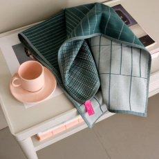 Hay Torchons en coton Cold forest - Set de 2-product