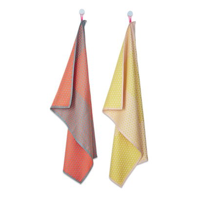 Hay Dot Layer Cotton Tea Towels - Set of 2-listing