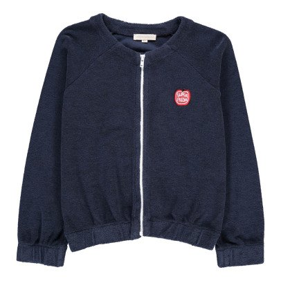 Hundred Pieces Super Fresh Towelling Sweatshirt with Zip-product