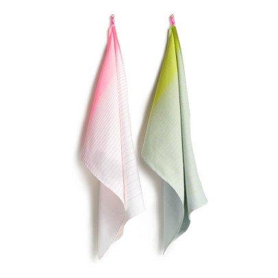 Hay Gradient Cotton Tea Towels - Set of 2-listing