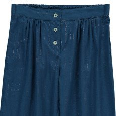 Bonton Iceberg Lurex Striped Harem Trousers-product
