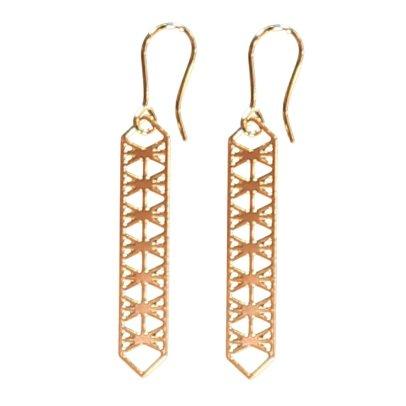 Sessun Gian Openwork Drop Earrings-listing