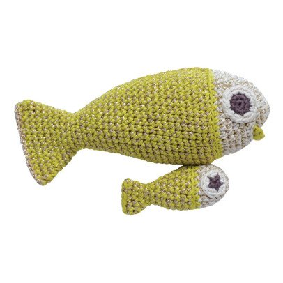 MyuM Moumout x Myum Vibrant Musical Fish Soft Toy-product