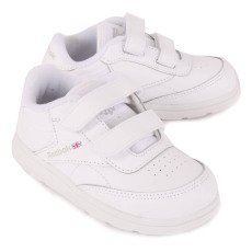 Reebok Club C Leather Velcro Trainers-listing