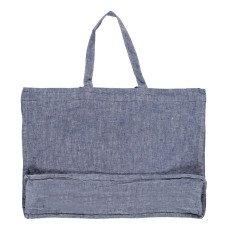 Linge Particulier Riesige Tasche aus Leinen Chambray -listing