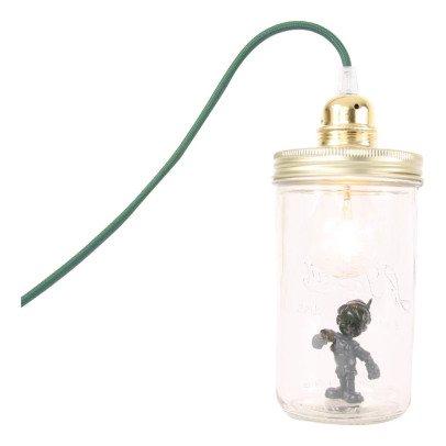 La tête dans le bocal Glas-Lampe Pinocchio-listing