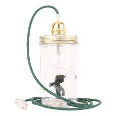 La tête dans le bocal Lampe bocal à poser Pinocchio-listing