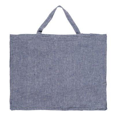 Linge Particulier Borsa lino lavato Chambray-listing