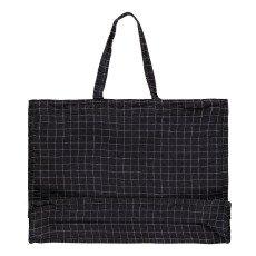 Linge Particulier Shopper in lino lavato quadretti-listing