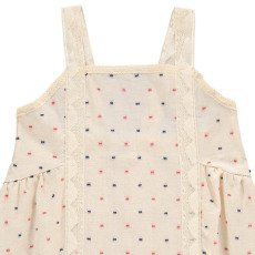 Atelier Barn Kleid mit Punkten Lou -listing