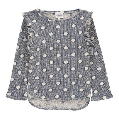 Atelier Barn Mona Polka Dot Sweatshirt-listing