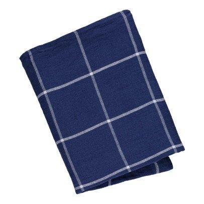 Linge Particulier Tovaglia lino lavato tartan-listing