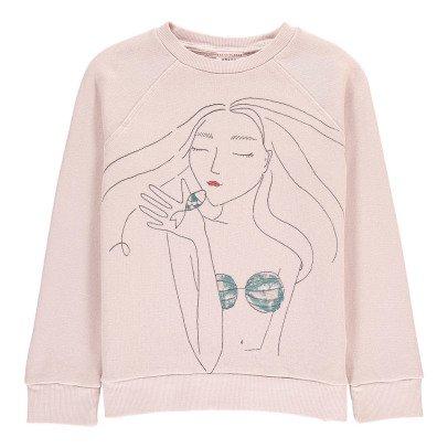 Morley Sweatshirt Meerjungfrau mit Pailletten Bass -listing