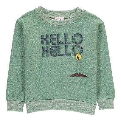"Atelier Barn Felpa ""Hello Hello""-listing"