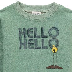 "Atelier Barn Anton ""Hello Hello"" Sweatshirt-listing"