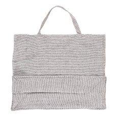 Linge Particulier Riesige Tasche aus Leinen mit Streifen -listing
