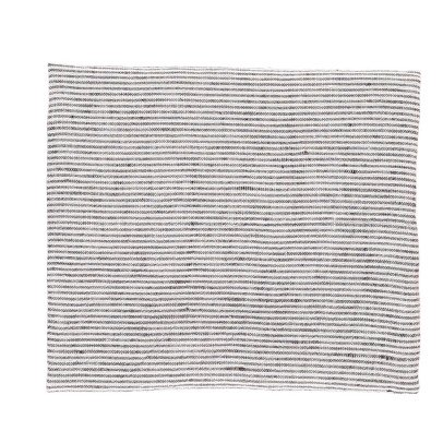 Linge Particulier Black and White Striped Washed Linen Hand Towel/ Tea Towel 55x80cm-listing