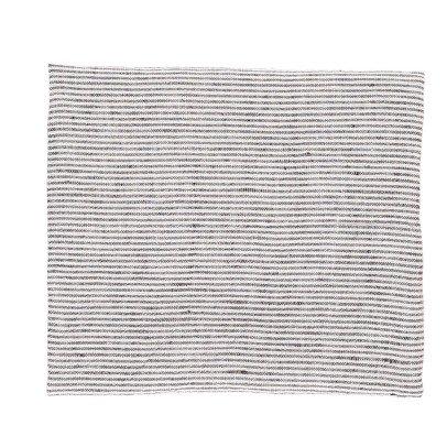 Linge Particulier Paño en lino lavado Rayas Negro - Blanco 55x80 cm-product