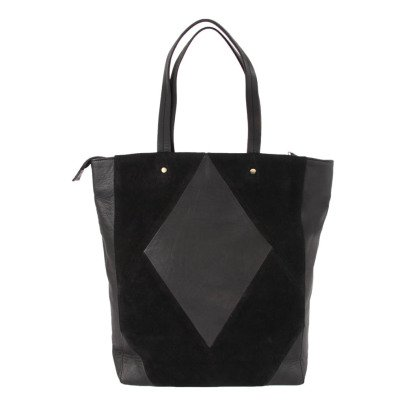 Beck Sönder Gaard Monbel Leather and Suede Shopper-listing