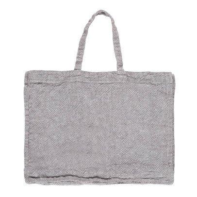 Linge Particulier Bolso gigante en lino lavado Heavy-listing