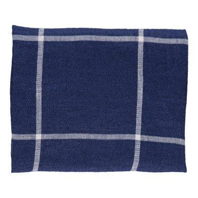 Linge Particulier Paño en lino lavado Rayas Tartan 55x80 cm-product
