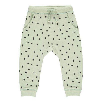 Rylee + Cru Diamond Polka Dot Jogging Bottoms-listing