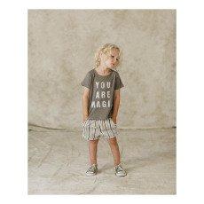 Rylee + Cru Shorts Mollettone Righe-listing