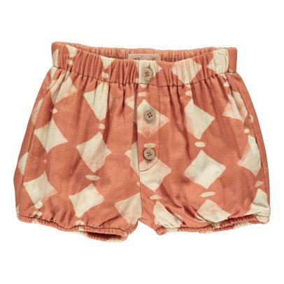 Rylee + Cru Diamond Shorts Rust-listing