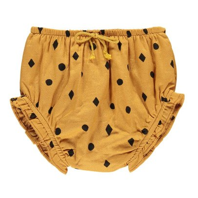 Rylee + Cru Diamond and Polka Dot Bloomers Ochre-listing