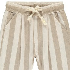 Rylee + Cru Striped Trousers Ivory-product