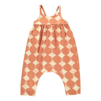Rylee + Cru Diamond Jumpsuit Rust-listing