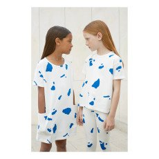tinycottons Camiseta Oversize Falsos Recortes-listing