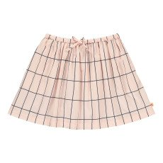 product-tinycottons Checked Large Skater Skirt