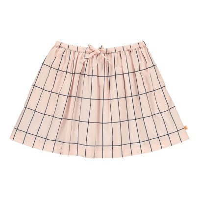 tinycottons Checked Large Skater Skirt-listing