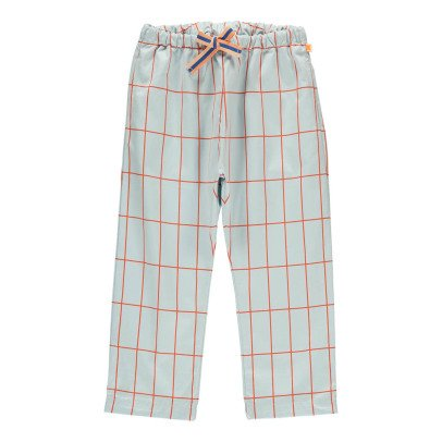 tinycottons Checked Large Fluid Trousers-listing