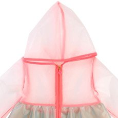 Billieblush Ruffle Hooded Raincoat-listing