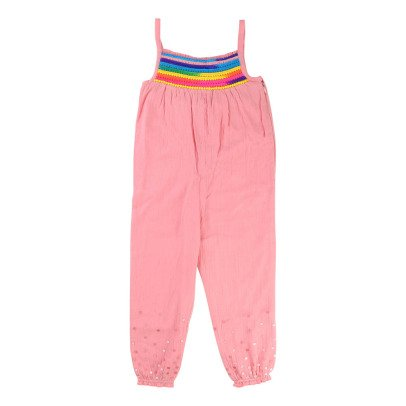Billieblush Rainbow Cotton Jumpsuit-product