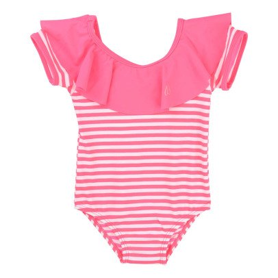 Billieblush Striped 1 Piece Swimsuit-listing