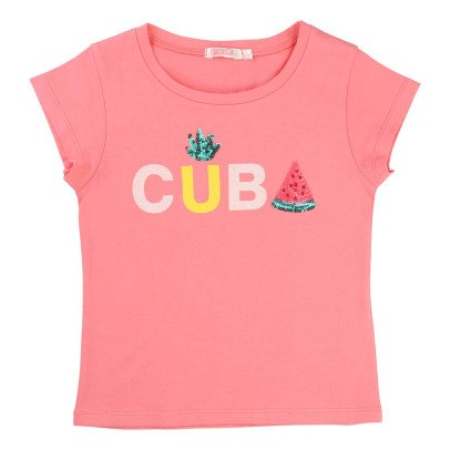 Billieblush T-shirt Paillettes -listing