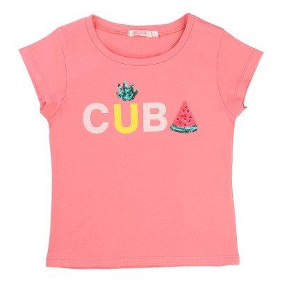 Billieblush T-Shirt Sequins CUBA-listing