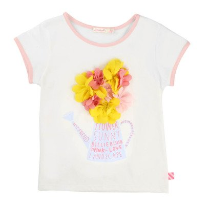 Billieblush T-shirt Fiori -listing