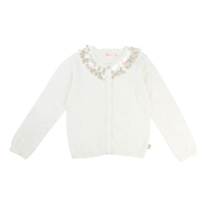 Billieblush Sequin Collar Cardigan-listing