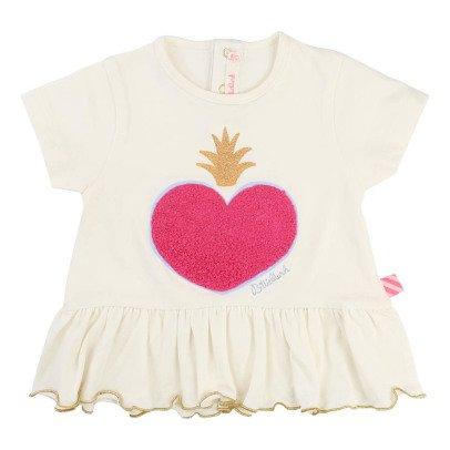 Billieblush T-Shirt Cœur-listing