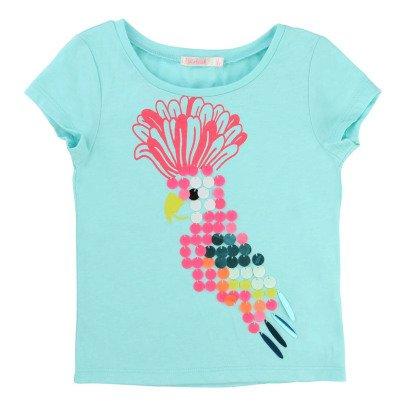 Billieblush T-Shirt Paillettes Pappagallo-listing