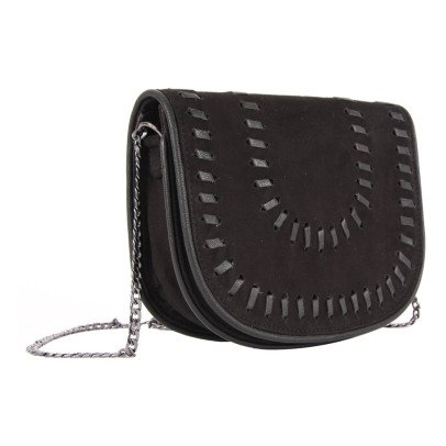 Beck Sönder Gaard Allee Leather and Suede Shoulder Bag-listing