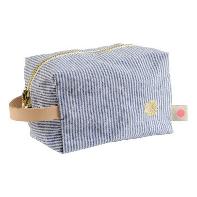 La cerise sur le gâteau Brushed Cotton Stripe Toiletry Bag-listing